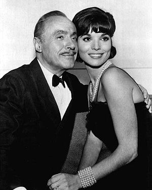 Elsa Martinelli - Charles Boyer and Elsa Martinelli