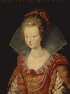Charlotte Marguerite de Montmorency Heiress of one of Frances leading ducal families, and Princess of Condé by her marriage to Henry II, Prince of Condé