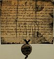 Charters, bulls and other documents relating to the abbey of Inchaffray, chiefly from the originals in the charter chest of the Earl of Kinnoull; (1908) (14587062418).jpg