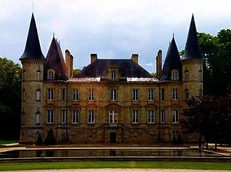 Château Pichon Longueville Baron - Image: Chateau Pichon Baron