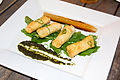 Cheese rolls at Mediteranean Restaurant, Yogyakarta, 2014-08-13.jpg