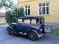 Chevrolet 1929, på Peter Hernqvistgatan i Skara, den 31 juli 2013a.JPG