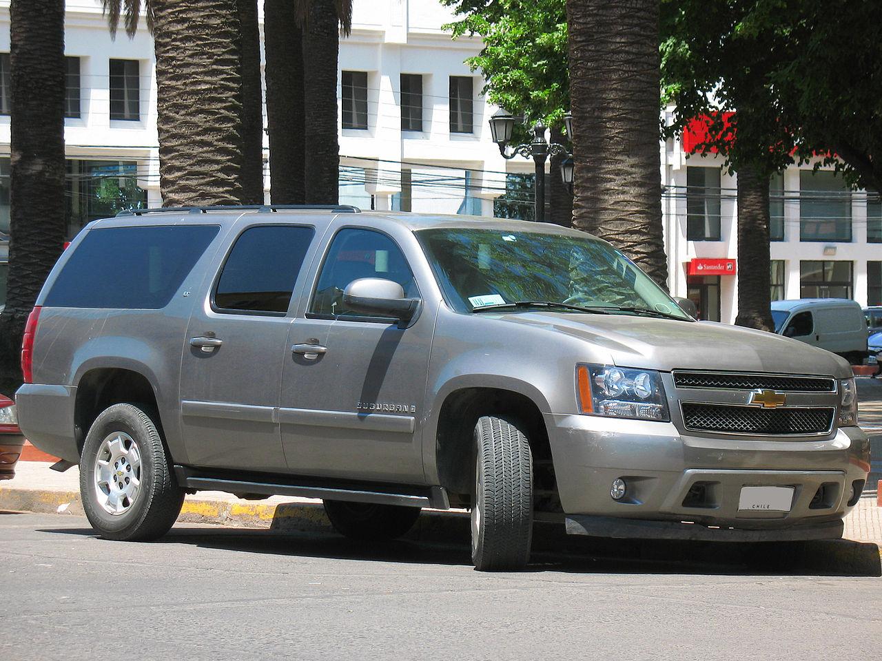Chevrolet Suburban LT 2007 (14636164698).jpg