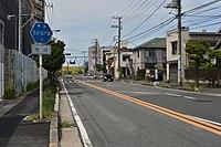 Chiba prefectural road route 1 (Ichikawa-Matsudo line) in Ichikawa,Ichikawa city.jpg