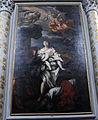 Chiesa abbaziale di s. michele a passignano, int., giuseppe nicola nasini, martirio di s. cristina,1709.JPG