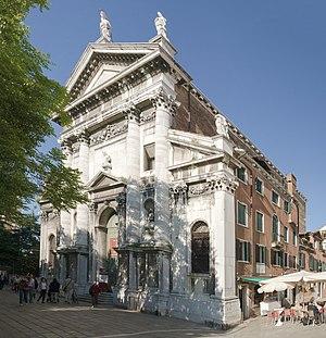 Andrea Tirali - Image: Chiesa di San Vidal (Venice) Facade