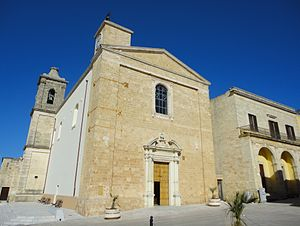 Gagliano del Capo - Mother church
