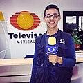 Chillons Reyes, Reportero de Televisa.jpg