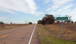 Chivington, Colorado unincorporated community in Colorado, United States