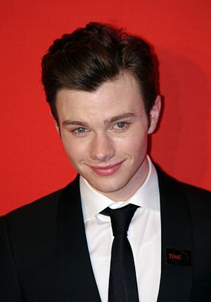 Chris Colfer at the 2011 Time 100 gala.