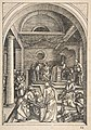 Christ among the Doctors, from The Life of the Virgin, Latin Edition, 1511 MET DP816284.jpg
