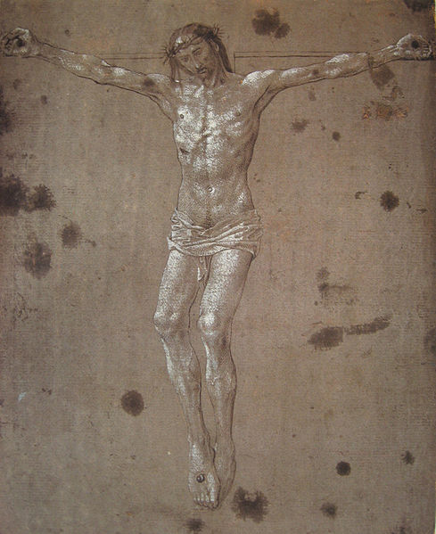 File:Christ on the cross - Hugo van der Goes.jpg