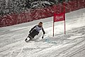 Christine Slavin competing in the Super G during the second day of the 2012 IPC Nor Am Cup at Copper Mountain.jpg
