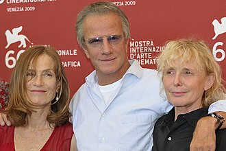 Christopher Lambert - Christopher Lambert, Isabelle Huppert, Claire Denis at the 66th Venice Film Festival