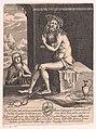 Christus als Man van Smarten, vergezeld door Maria Ecce Homo (titel op object), RP-P-1906-2781.jpg