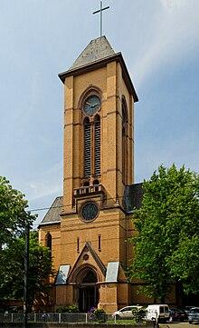 Christuskirche Oberbilk Wikipedia