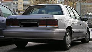 Chrysler Saratoga - 1992–1995 Chrysler Saratoga in Spain
