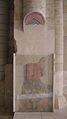 Church of Fontevraud Abbey Raymond VI fresco.jpg