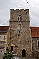 Church of St Andrew's, Boreham, Essex - central tower from south.jpg
