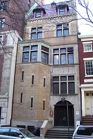 Church of the Ascension, Episcopal (Manhattan) - Image: Church of the Ascension Parish House