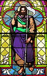 Church of the Sacred Heart (Coshocton, Ohio) - stained glass, Saint John the Baptist.JPG