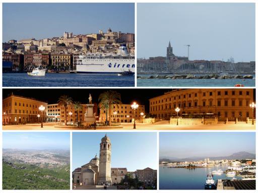 Città Sardegna collage