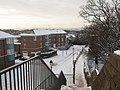 City Walls Road in the snow from St Martin's Gate - geograph.org.uk - 1658519.jpg