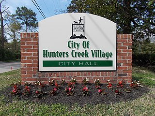 Hunters Creek Village, Texas City in Texas, United States