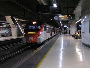 Rodalies de Catalunya - Image: Civia Rd C en Barcelona Sants