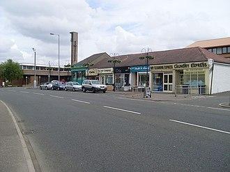 Stamperland - Image: Clarkston Road shops geograph.org.uk 1352655