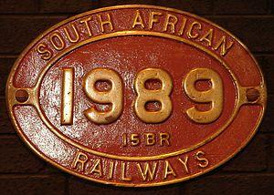 South African Class 15B 4-8-2 - Class 15BR