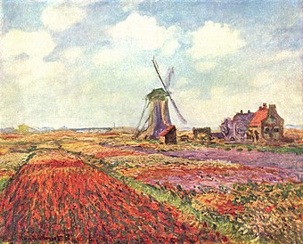 Claude Monet - Tulip fields in Holland (Musée d'Orsay).jpg