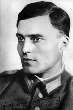 Claus von Stauffenberg German army officer
