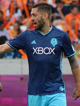 Clint Dempsey - Dempsey playing for the Seattle Sounders FC in 2016