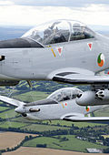 Close up of Irish Air Corps Pilatus PC-9 in flight.jpg