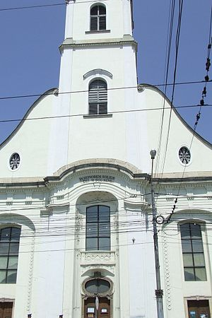 Unitarian Church of Transylvania - Image: Cluj Napoca Unitarian Church