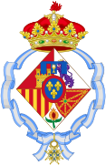 Coat of Infanta Elena of Spain, Duchess of Lugo.svg