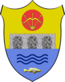 Coat of arms of Kamyana Hreblia.png
