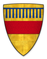 Coat of arms of Saire de Quincy, Earl of Winchester.png