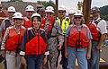 Col. Lindstrom visit project site at Emsworth (9471609017).jpg