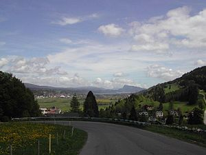 Le Chenit - Col du Marchairuz pass in Le Chenit