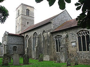 Colby, Norfolk - Image: Colby Parish Church of Saint Giles