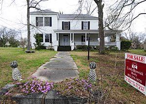 College Street Historic District (Newberry, South Carolina) - Image: College Street Historic District