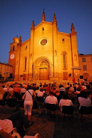 Fiorenzuola d'Arda - The Collegiata of San Fiorenzo.