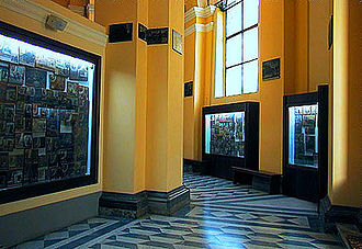 Ex-voto - The collection of ex-votos in Abbey of St Maria del Monte, Cesena, Italy