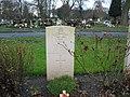Commonwealth War Grave in Jarrow Cemetery (WW2-09) - geograph.org.uk - 1604696.jpg