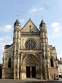 Compiègne (60), église Saint-Antoine, façade occidentale, 07.04.2013.JPG