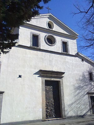 Acerno Cathedral - West front