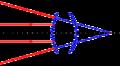 Construction dans le cas d'un système divergent avec réflexion 02.png