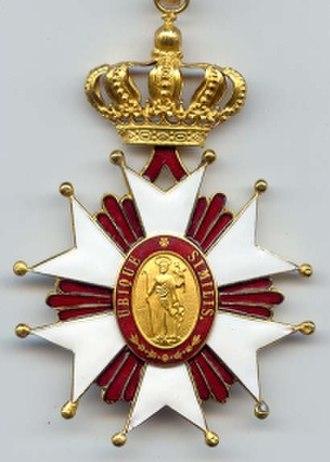 Order of Saint Joseph - Badge of the Order of Saint Joseph.